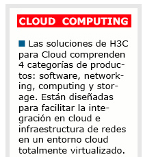 Soluciones H3C - Cloud Computing