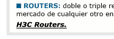 Soluciones H3C - Networking: Routers
